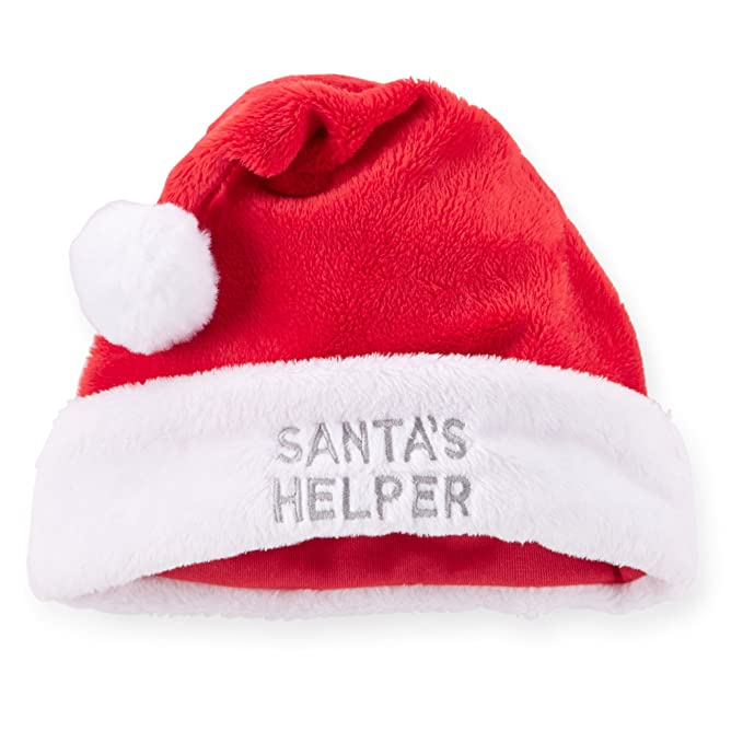 Image Unavailable. Image not available for. Color  Carters Unisex Santa s  Helper Hat ... 233aad8d2aad