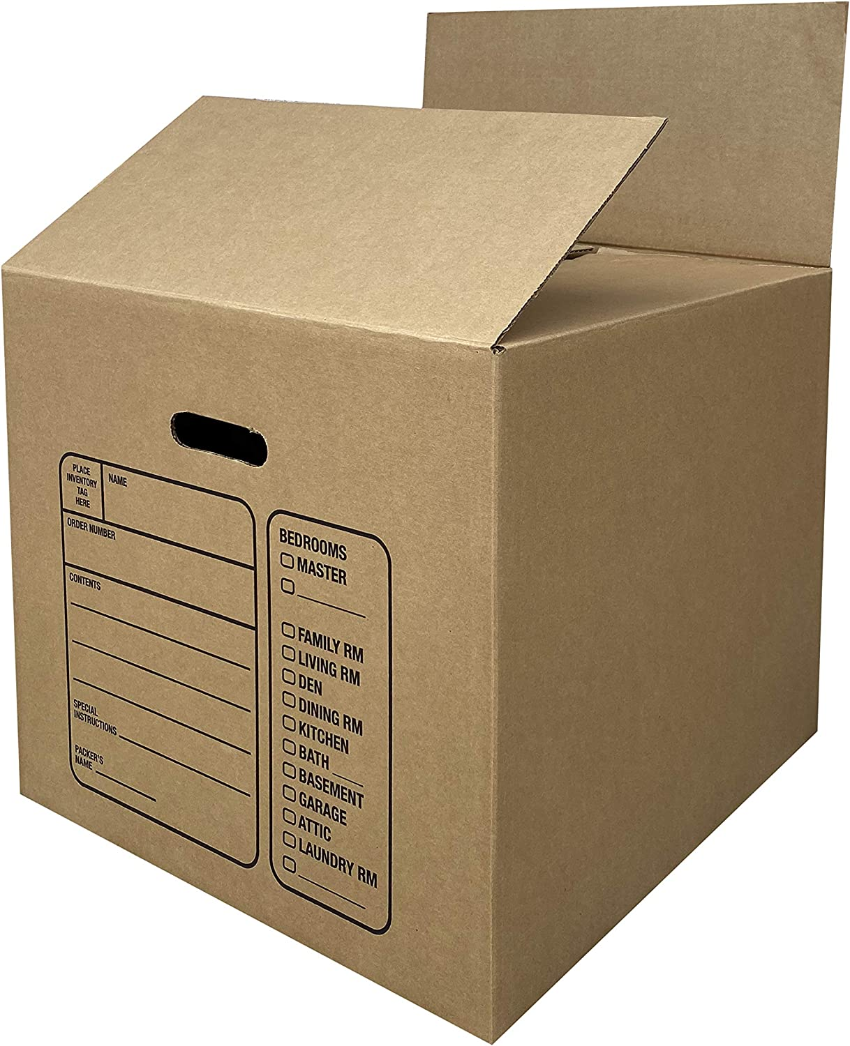 18x18x6 New Corrugated Boxes for Moving or Shipping Needs 32 ECT