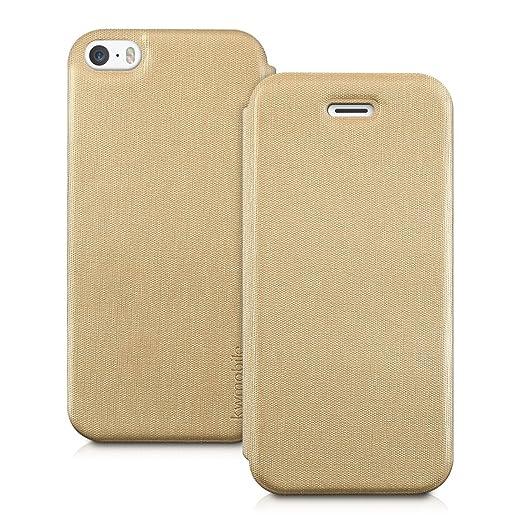 121 opinioni per kwmobile Cover per Apple iPhone SE / 5 / 5S- Custodia protettiva apribile a