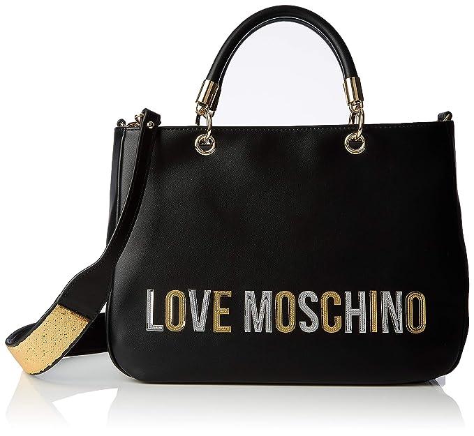 Love Moschino Borsa donna a mano o tracolla articolo JC4259PP07KI BORSA PU cm.34 x cm.24 x cm.13 (CIRCA)