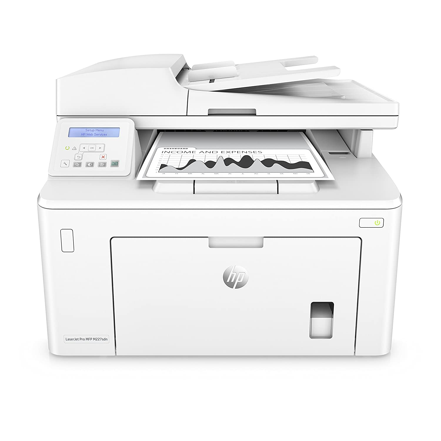 Amazon.com: Multifunction Printer Hewlett Packard M227SDN 28 ...