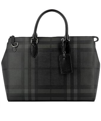 b8528377206 Burberry Homme 4056460Black Noir Pvc Sac Messenger  Amazon.fr  Vêtements et  accessoires