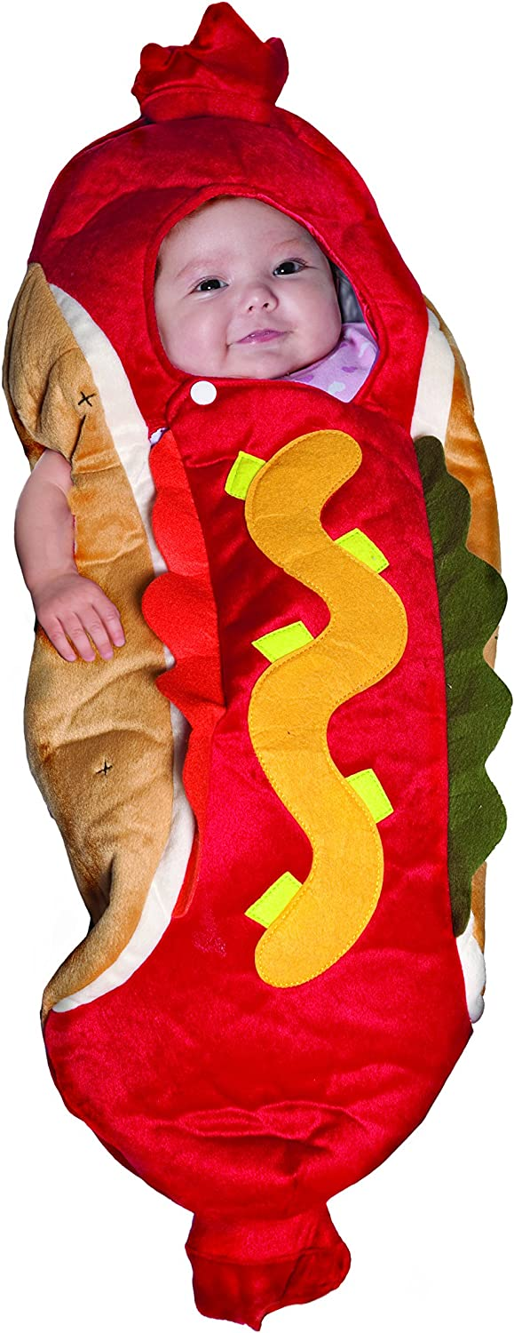 Underwraps Costumes Baby's Hot Dog Costume Bunting