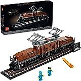 LEGO Crocodile Locomotive 10277 Building Kit; Recreate The Iconic Crocodile Locomotive with This Train Model; Makes a Great G