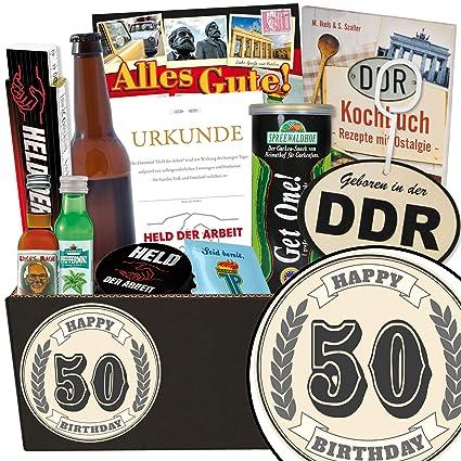 50 Geburtstag Ostbox Fur Den Mann 50 Geburtstag Geschenke Ideen