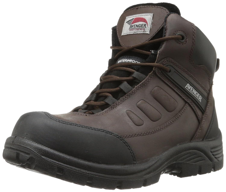 Avenger Safety Footwear メンズ B00DU9WL5U 10.5 D(M) US|ブラウン ブラウン 10.5 D(M) US