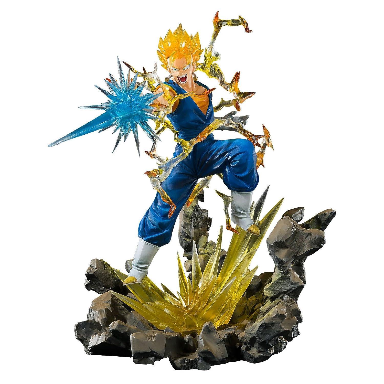 Dragonball Z FiguartsZERO PVC StatueスーパーSaiyan Vegetto Tamashii Web Exclusive B07856S7HC