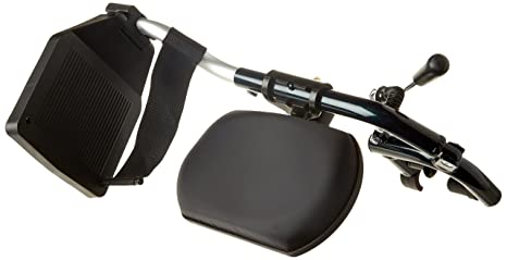Drive Medical ELR002R - Soporte para pierna derecha (accesorio para silla de ruedas, aluminio