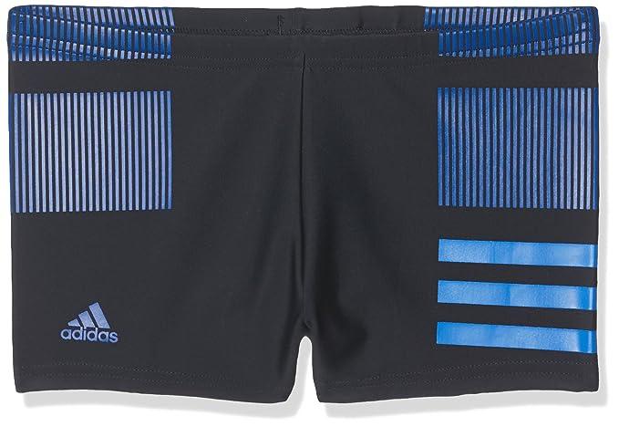 adidas Jungen Infinitex Colourblock 3 Streifen Boxer Badehose