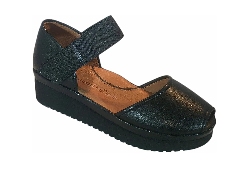 L`Amour Des Pieds Womens Amadour Sandal B01JGR9VA2 7 B(M) US|Black Lamba