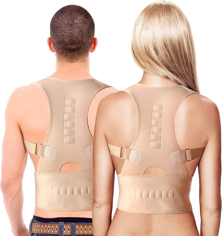 MovilCom® - Corrector de Postura Espalda y Hombros | corrector de espalda | Espalda Recta, Correctores Postural Faja, Corregir Postura Sentado Enderezar, Mujer e Hombres Talla XL