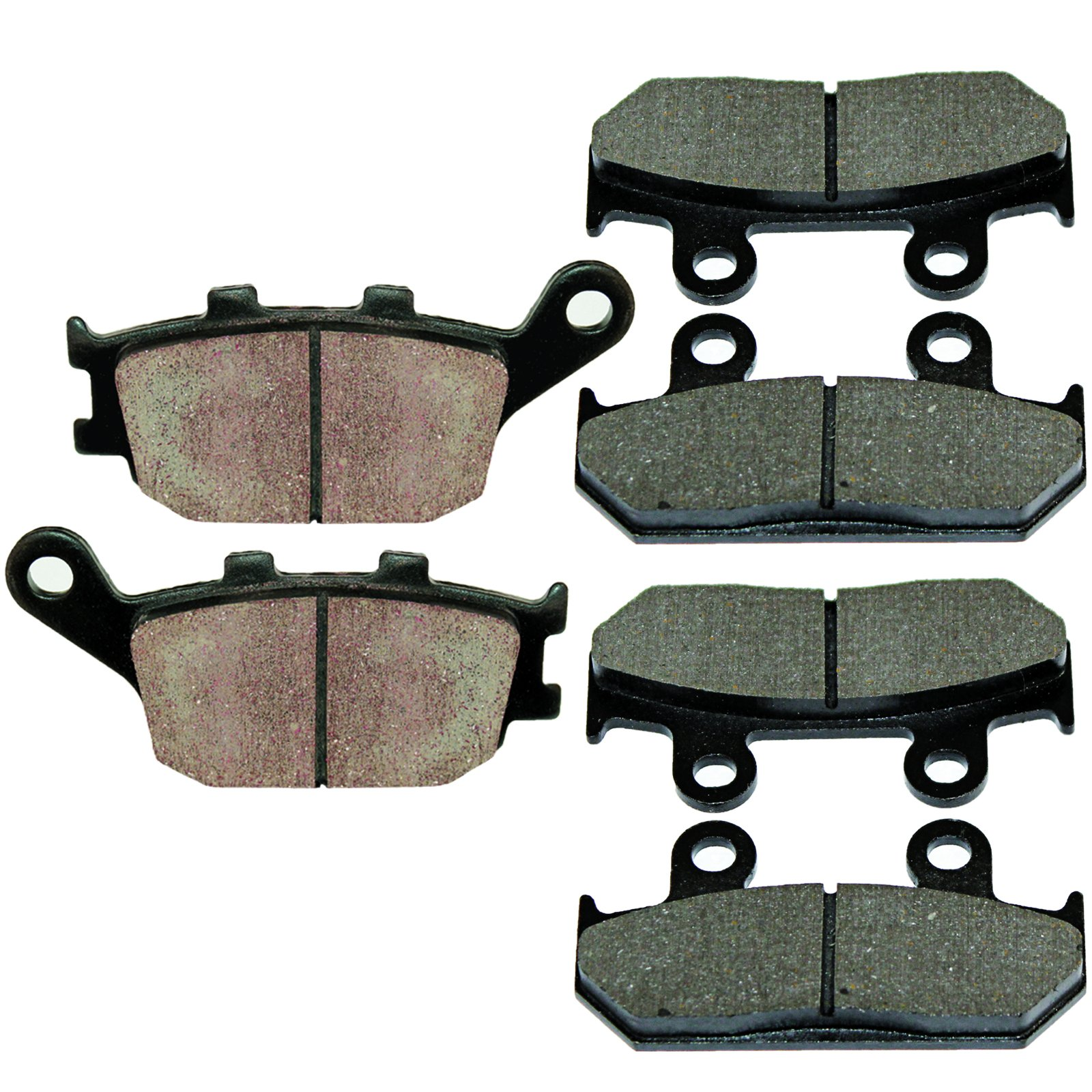 Caltric FRONT & REAR BRAKE PADS Fits HONDA CBR600 CBR-600 CBR600F CBR600F2 SUPER SPORT 1991-1994