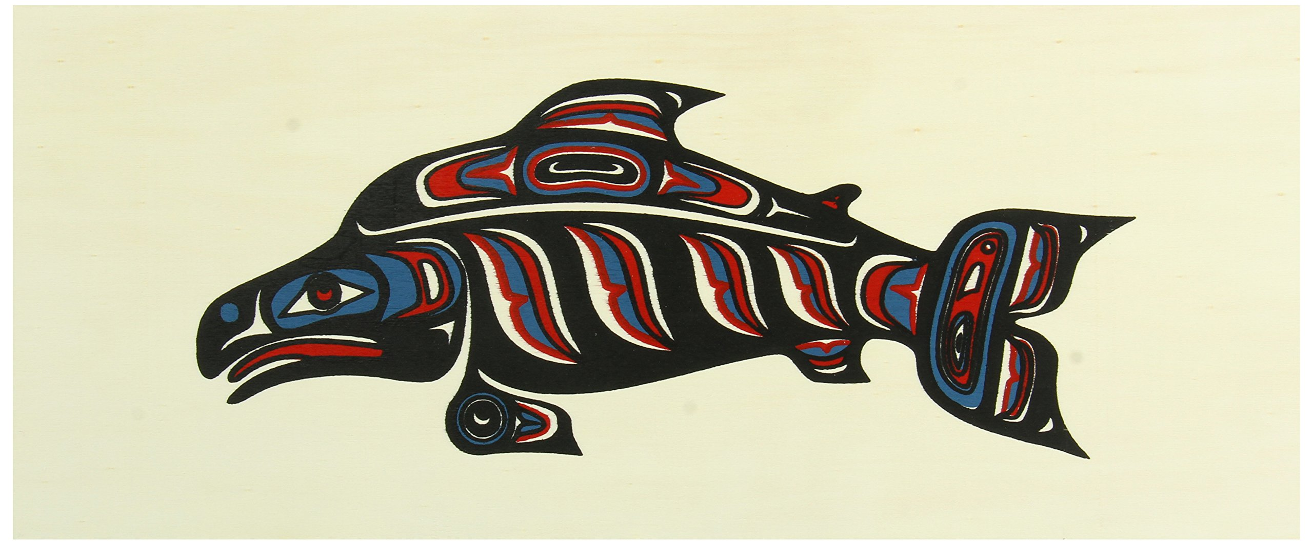 Alaska Smokehouse Smoked Salmon Fillet in Wood Gift Box 16 oz, Assorted Designs