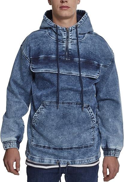 Urban Classic Pullover Denim Jacket, Chaqueta Vaquera para Hombre, Blau (Random Blue 01381), XX-Large: Amazon.es: Ropa y accesorios