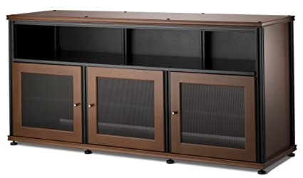 Gentil Salamander Designs SB339C/B Synergy Triple Wide A/V Cabinet With Doors And A