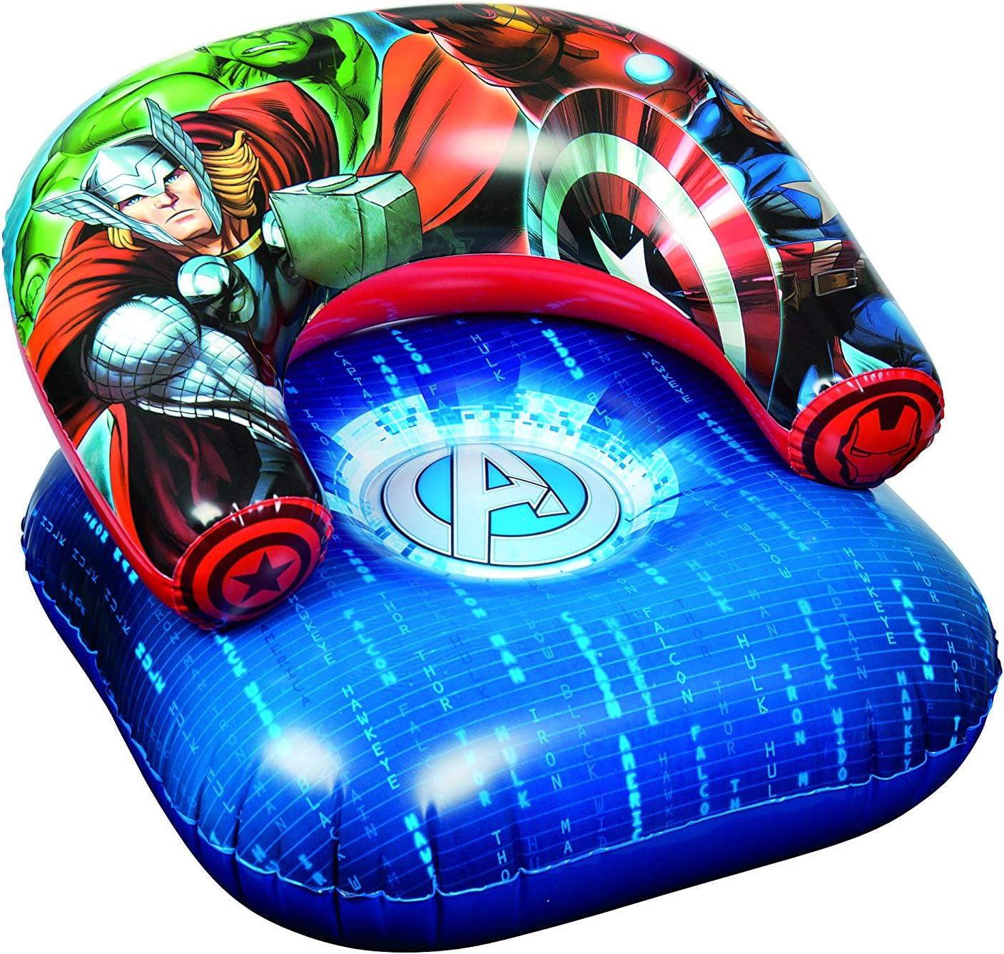 Avengers Marvel Los Vengadores superhéroes Hinchable para niños Luna Silla Playa Piscina Tumbona Asiento Solo sofá: Amazon.es: Hogar
