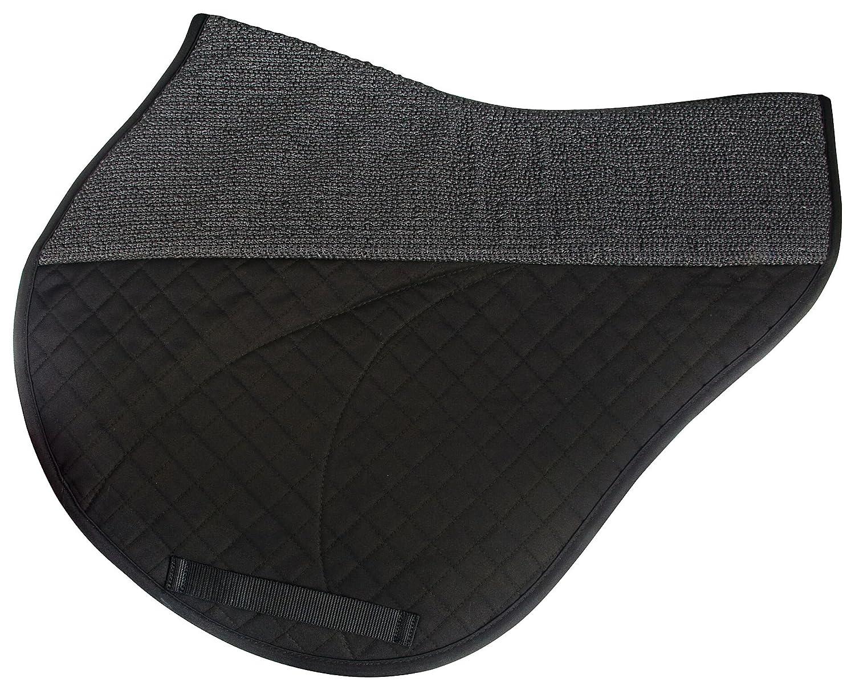 Success Equestrian Deluxe XC Monoflap NO Slip Saddle Pad Black, One Size 4200B