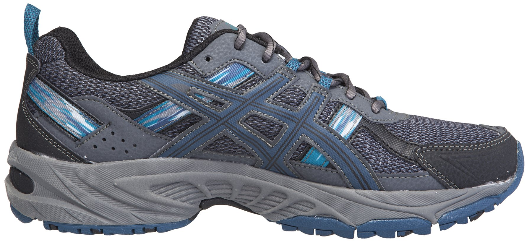 ASICS Men's Gel-Venture 5 Running Shoe (7.5 D(M) US, Black/Ink/Ocean) by ASICS (Image #3)