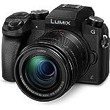 Panasonic LUMIX G DMC-G70MEG-K Systemkamera (16 Megapixel, OLED-Sucher, 7,5 cm OLED Touchscreen, 4K Foto und Video) mit Objektiv H-FS12060/F3,5-5,6/ OIS schwarz