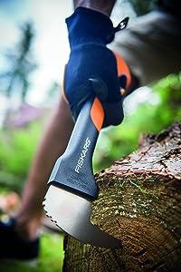 Holz machen mit dem Sappie