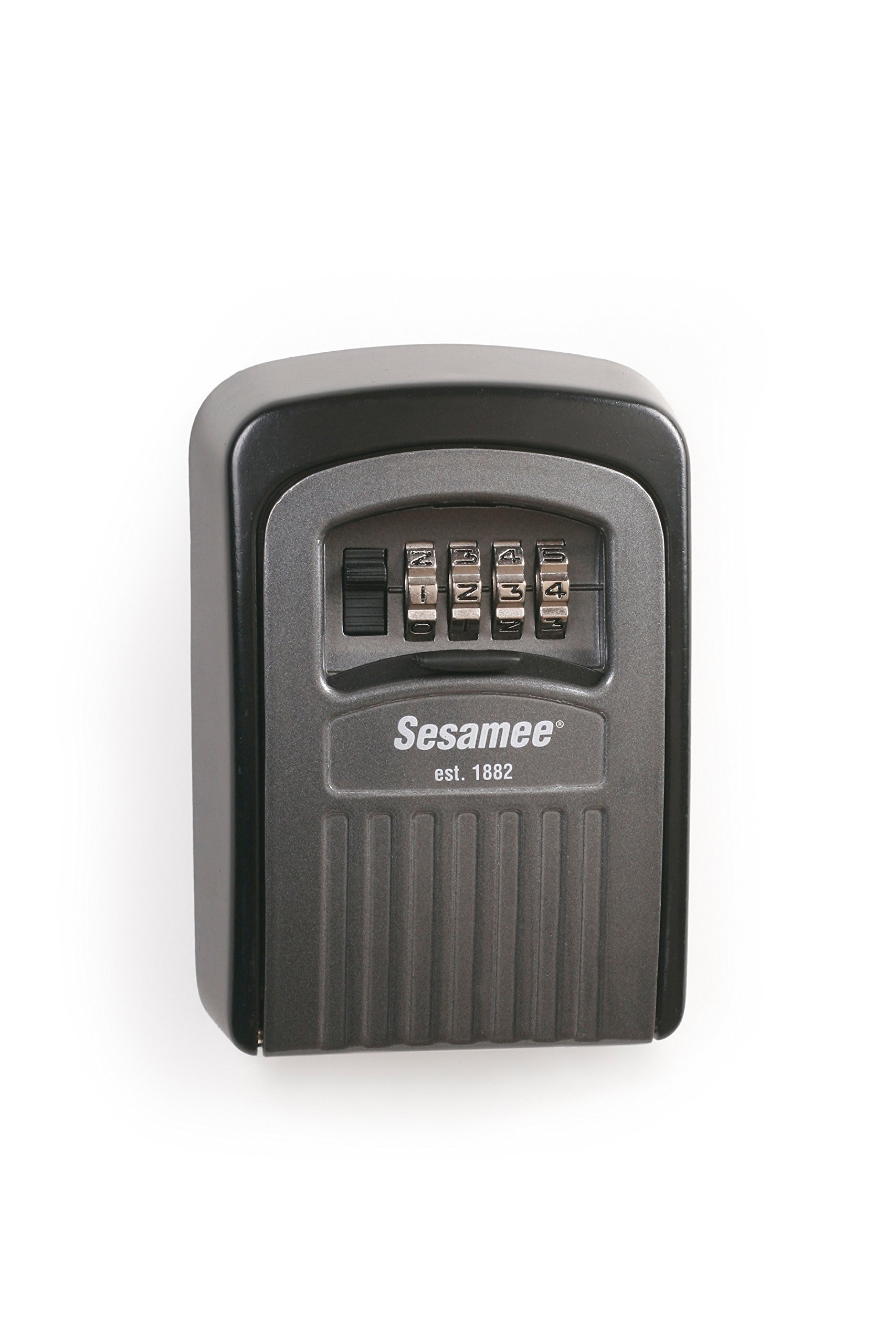 Sesamee 96008 Resettable Dial Combination Storage Lock Permanent with 10,000 Potential Combinations