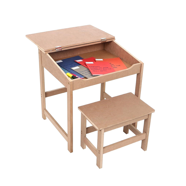 Superieur Premier Housewares Childrenu0027s Desk And Stool Set   Natural: Amazon.co.uk:  Kitchen U0026 Home