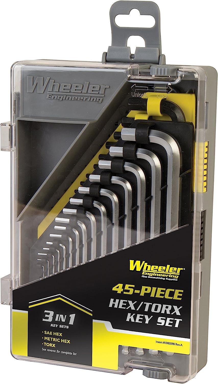 Wheeler Engineering - Juego de llaves hexagonales y Torx (45 piezas)