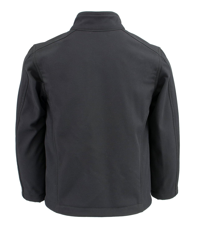 Milwaukee Leather Boys Lightweight Zipper Front Soft Shell Jacket Black 2X