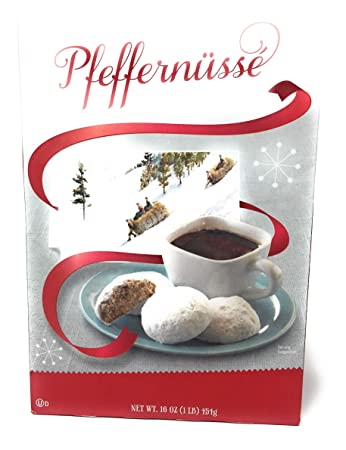 Trader Joe S Pfeffernusse German Spice Cookies Limited Holiday Edition 16 Ounce Box One Box