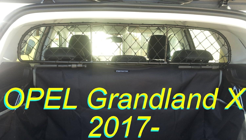 2017 Kofferraummatte mit Ladekantenschutz für Opel Crossland X ab Bj