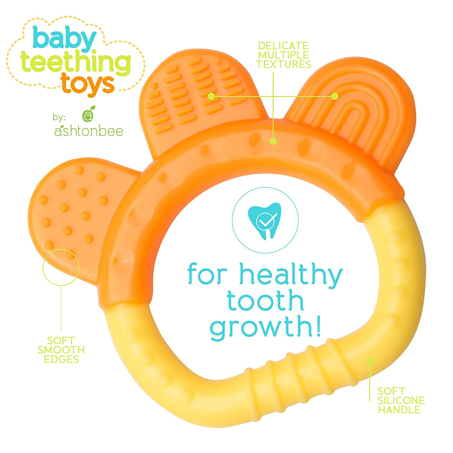 Amazon Baby Teething Toys BPA Free Natural Organic Freezer