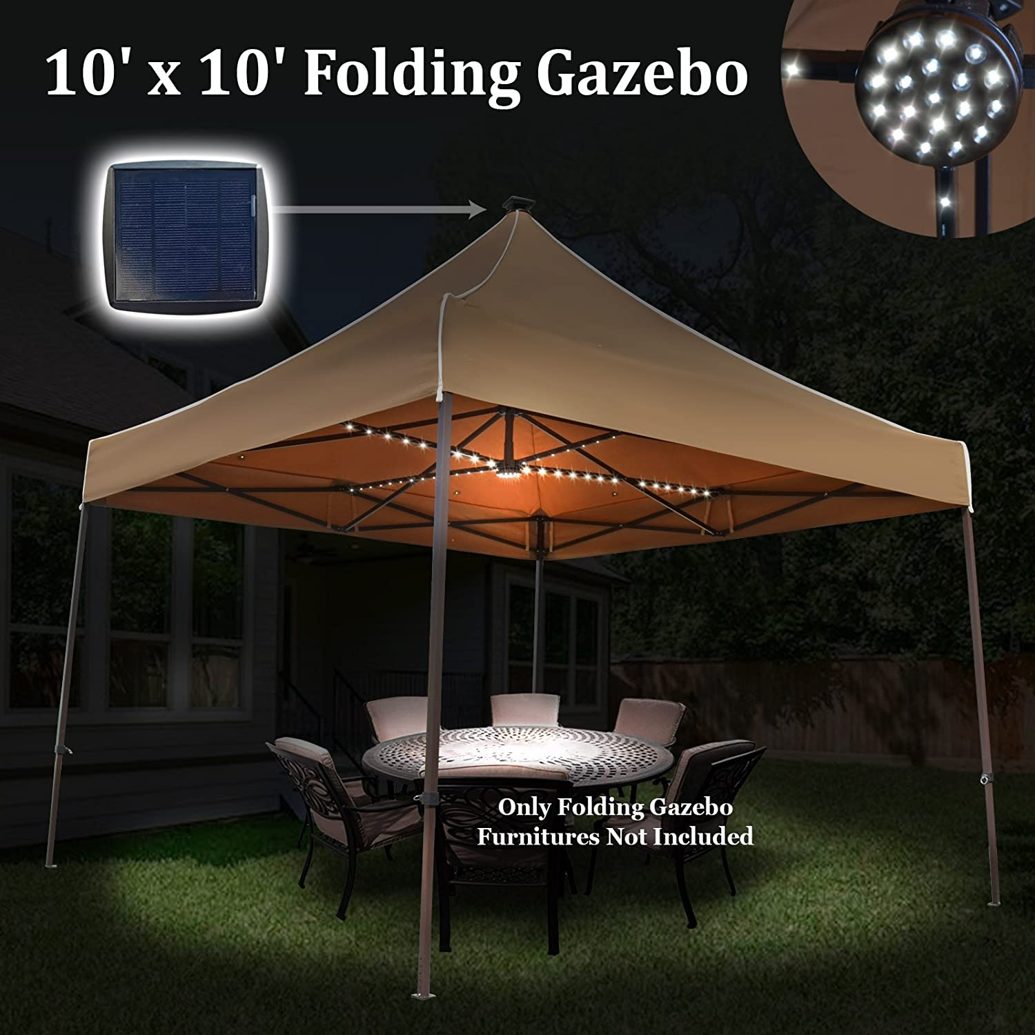 shade canopy instant outdoor trail lighting light tent system with sun p cancel led coleman s content inflow garden global patio res shelter inflowcomponent