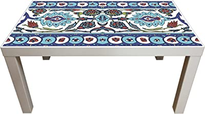 Probest Tile Coffee Table, Retro Coffee Table, Coffee Table, Pine Wood Coffee Table, Interesting Coffee Table, Vintage Coffee Table, Coffee & End Tables, Living Room Furniture Coffee Tables, Table