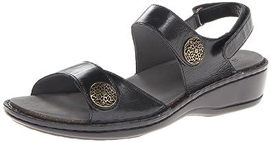 Aravon Women's Candace Dress Sandal,Black,5 ...