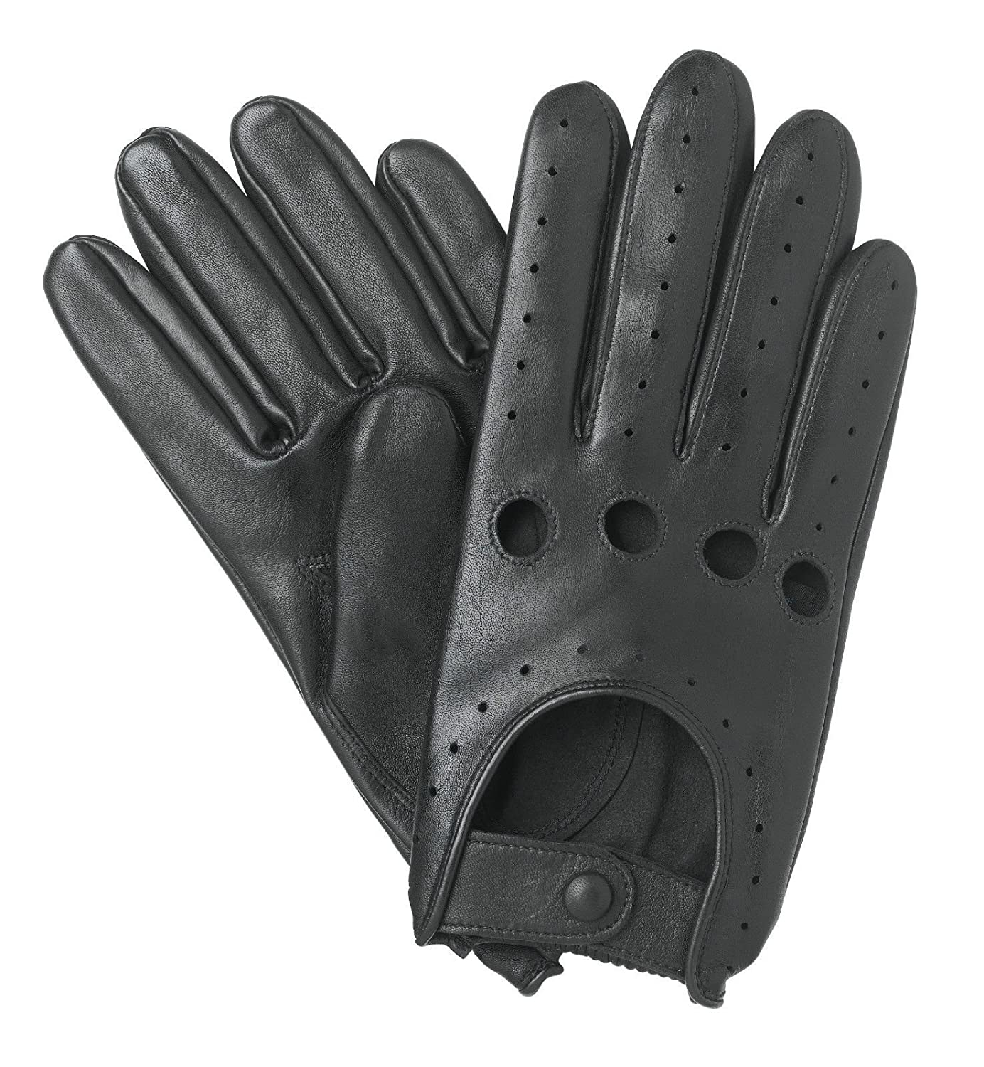 English leather driving gloves - Mens Driving Gloves 502 Slim Fit Chauffeur Lambskin Leather Dress Fashion Motor Bike Glove