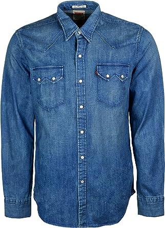para Hombre Levi Camiseta de Manga Corta Levis Tela Vaquera Patrones de Costura para Camisas: Amazon.es: Ropa y accesorios