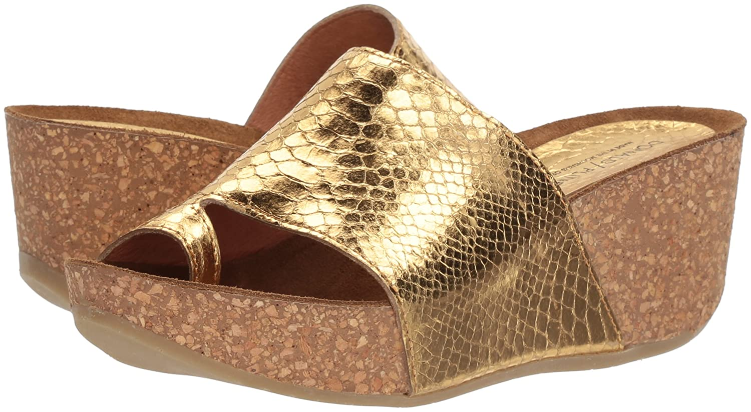 Donald J Pliner Women's 8.5 Ginie Slide Sandal B07555FSXJ 8.5 Women's B(M) US|Gold b33fb5