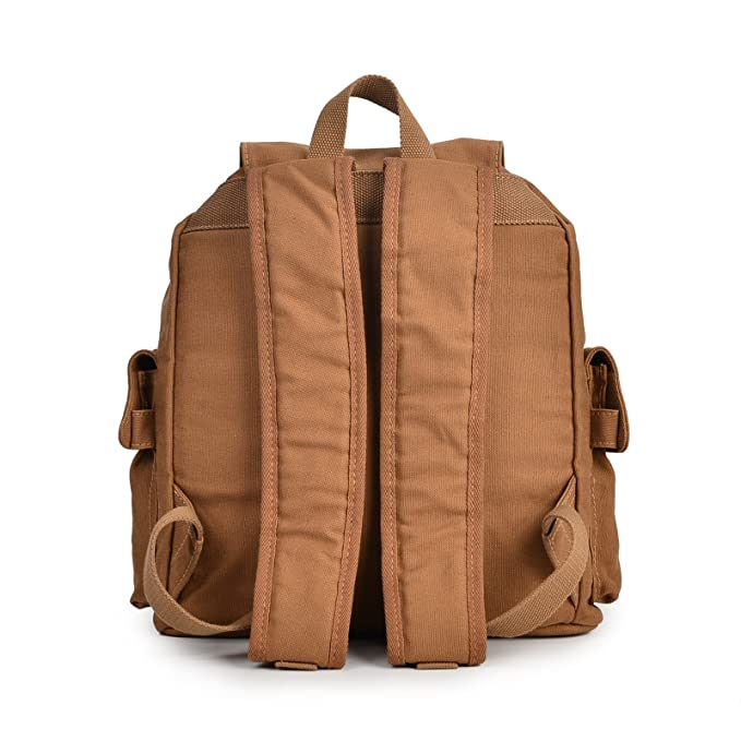 13d8bf4ef134 Amazon.com: KEROUSIDEN Men's & Women's Unisex Cotton Canvas Backpack ...