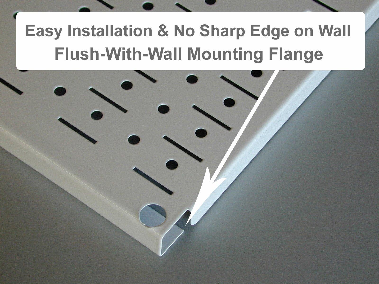 Wall Control 30-WRK-800WB Master Workbench Metal Pegboard Tool Organizer by Wall Control (Image #7)