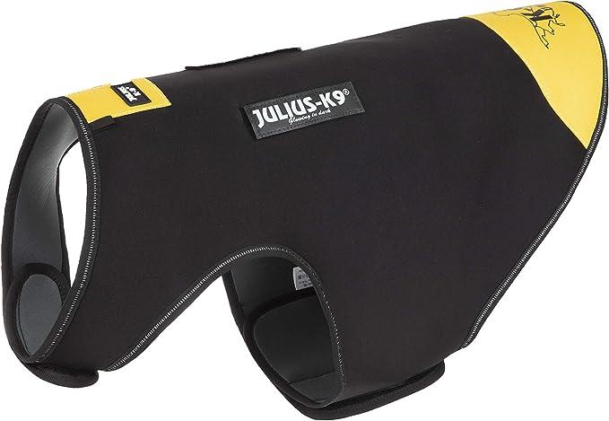 Julius-K9, Chaqueta de neopreno para perro IDC, Talla: XL, Negro y ...