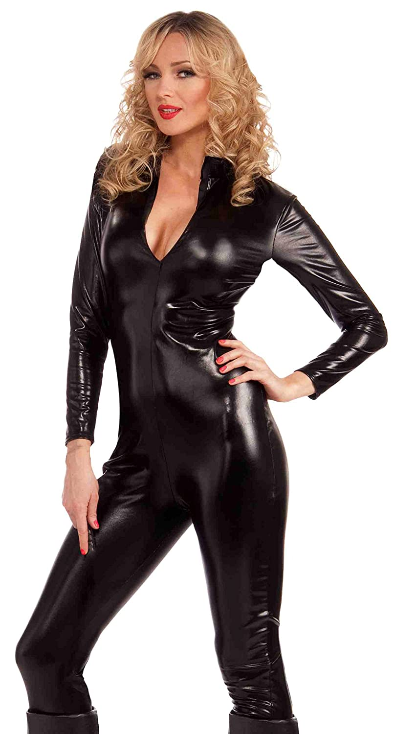 Forum Novelties Women's Sleek and Sauce Bad Girl Costume Bodysuit Forum Novelties Costumes