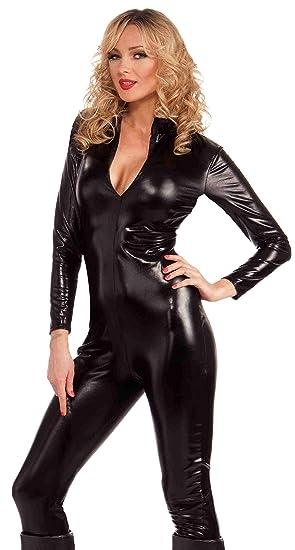 70b953b20fc Amazon.com  Forum Novelties Women s Sleek and Sauce Bad Girl Costume ...