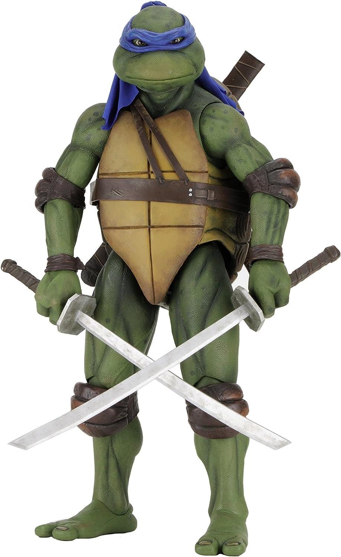 Amazon Com Neca Teenage Mutant Ninja Turtles Leonardo 1 4 Scale