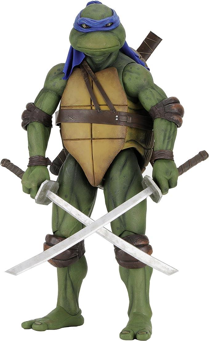 NECA Teenage Mutant Ninja Turtles Leonardo 1/4 Scale Action Figure