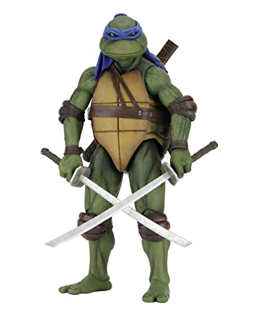 Amazoncom NECA Teenage Mutant Ninja Turtles Leonardo 14 Scale