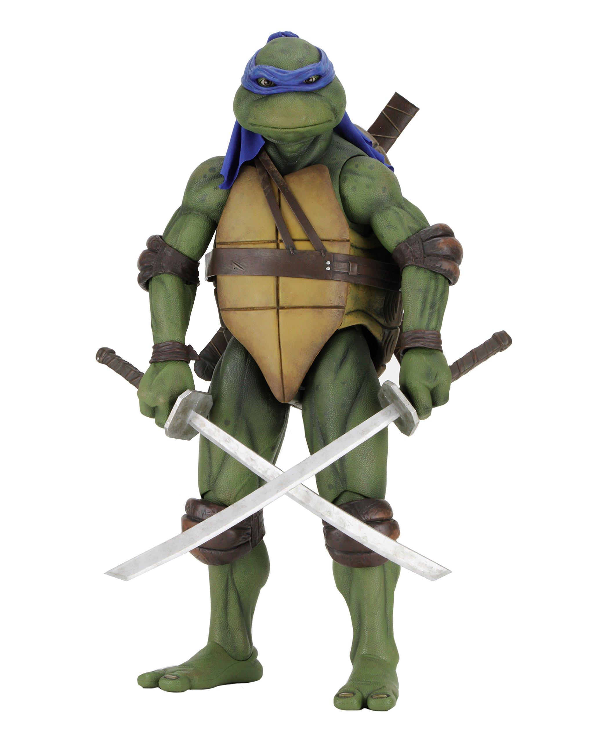 NECA Teenage Mutant Ninja Turtles Leonardo 1/4 Scale Action Figure by NECA (Image #1)