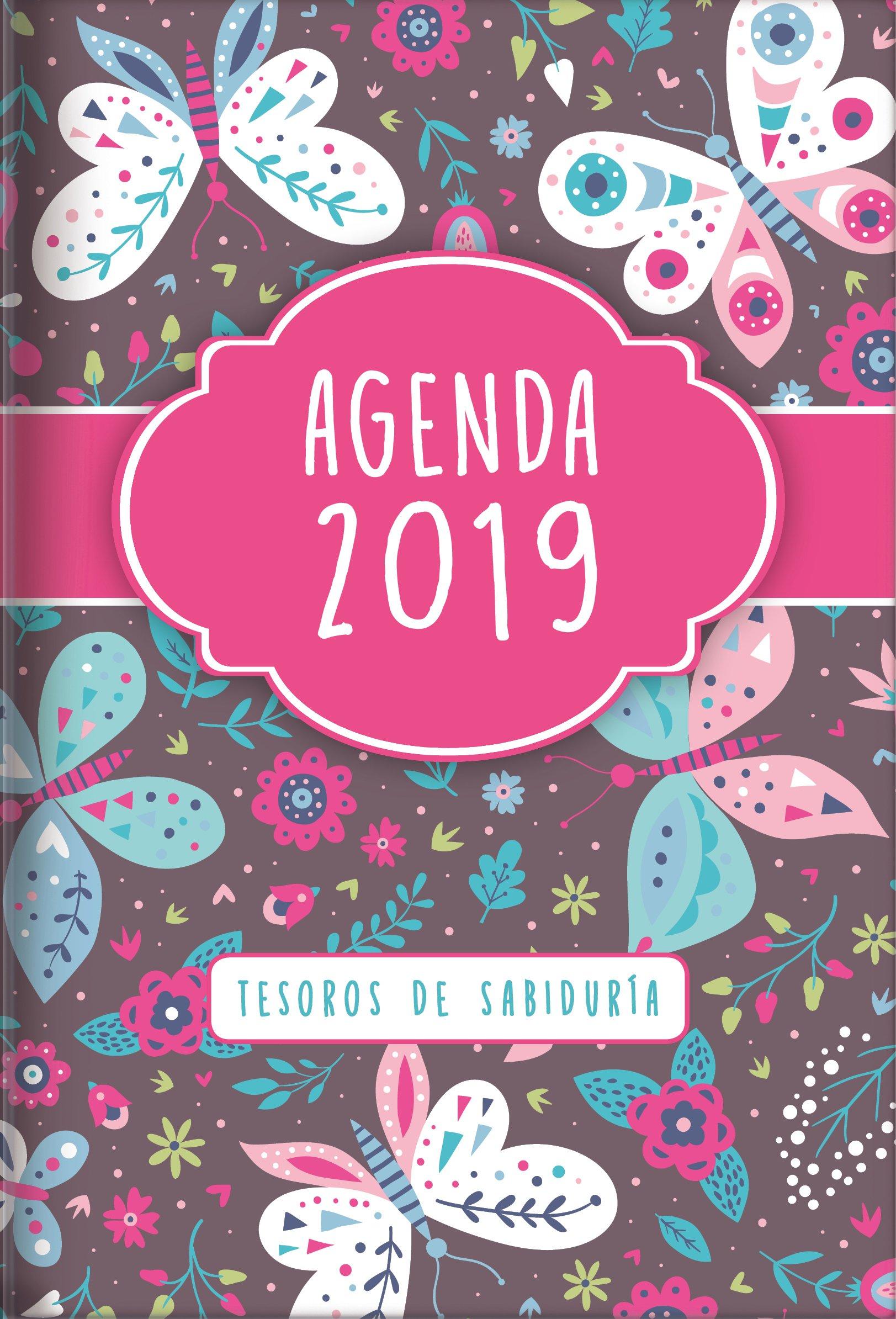 Amazon.com: 2019 Agenda - Tesoros de Sabiduría - Mariposas ...