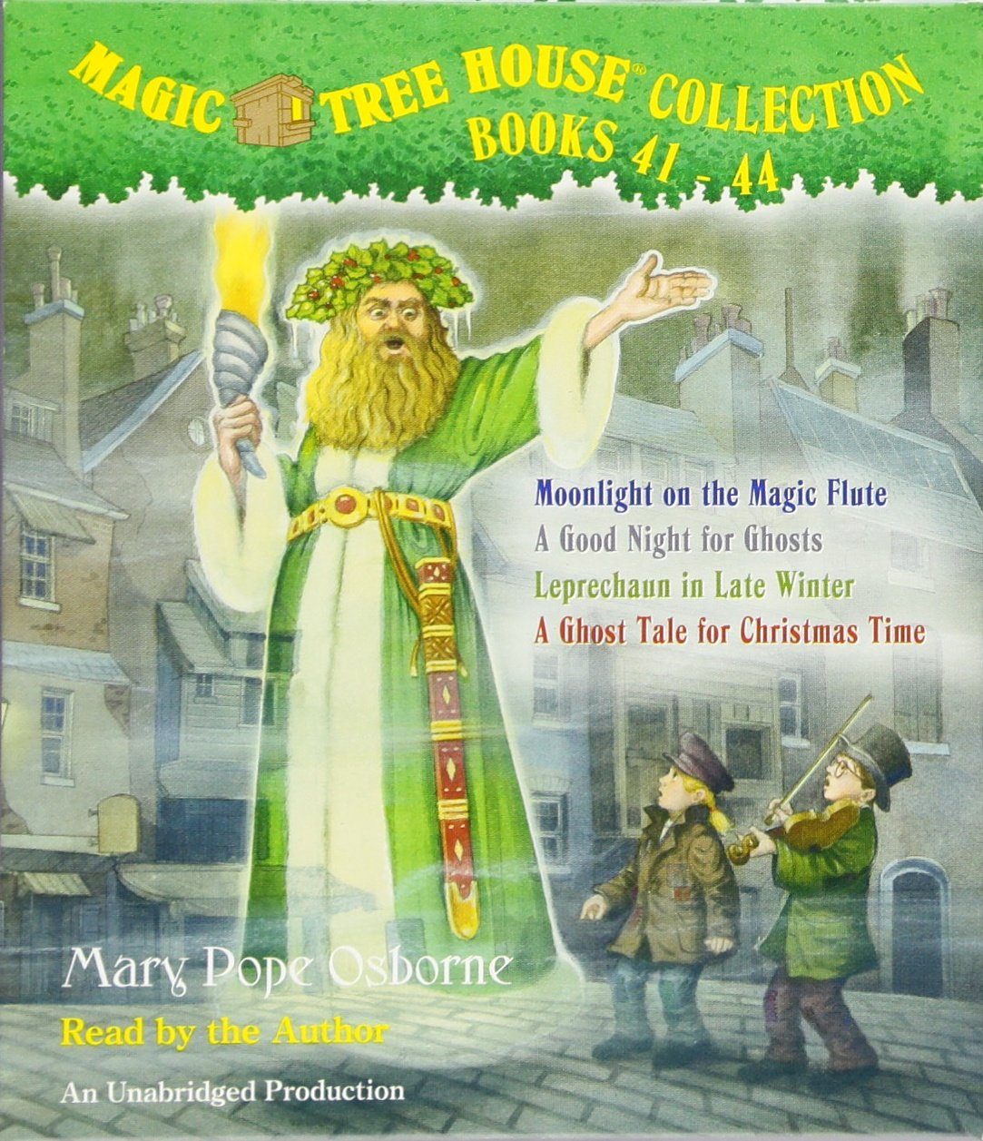Magic Tree House Collection Books 41 44 41 Moonlight On The Magic