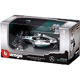 Bburago 18–38120–Mercedes AMG Petronas F1, escala 1: 43, gris