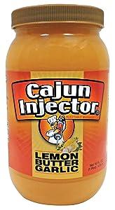 Cajun Injector 22174.01606 Lemon Butter Garlic Marinade